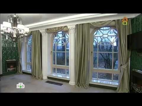 Дачный ответ - 1.12.2013 - Новая гостиная со старинной мебелью - YouTube