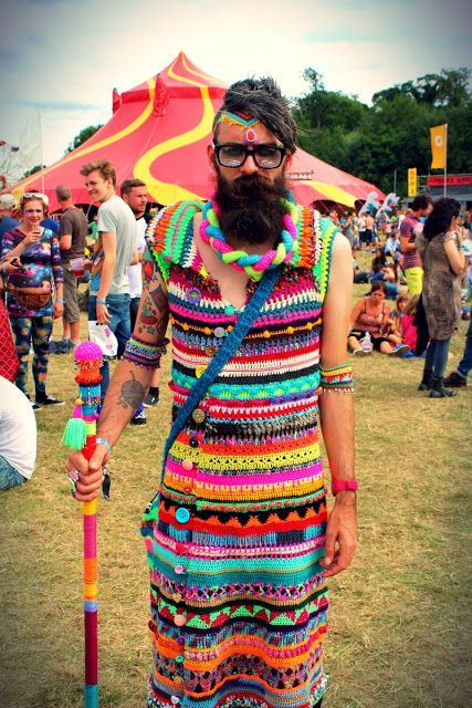 One Man Crochet at Shambala 2015