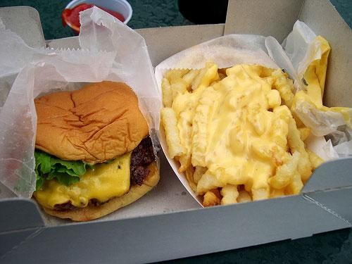 I'm not ashamed. Give me a juicy Shake Shack burger ANY day
