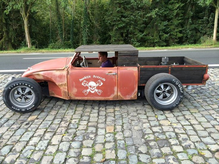 Custom Hot Rod / Rat Rod Volksrod Beetle Pickup Show Car VW | eBay