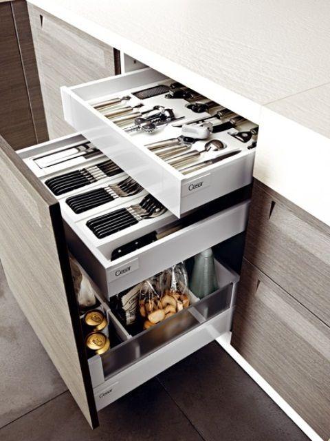 Фотография: Прочее в стиле , Кухня и столовая, Интерьер комнат, идеи для кухни, как организовать хранение на кухне, система хранения на кухне, способы хранения на кухне – фото на InMyRoom.ru