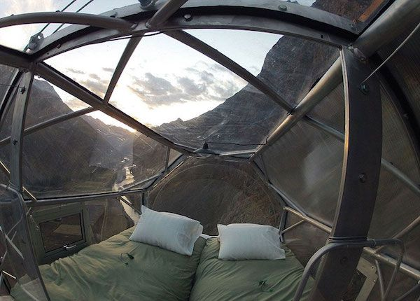 Clear Sleeping Pods Hanging Above Peru Have The Most Breathtaking Views (Photos)