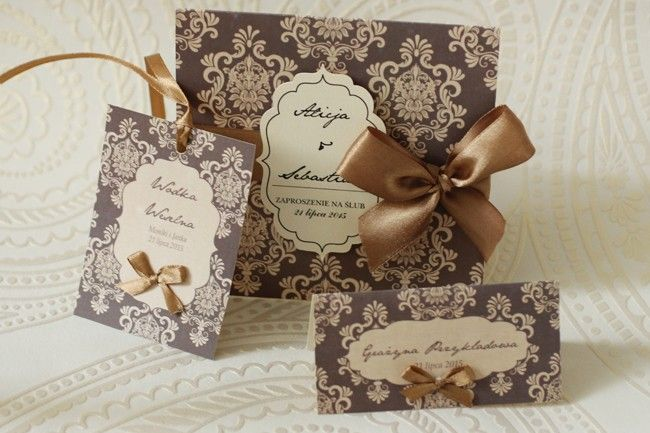 Ornament Menu - Amelia wedding