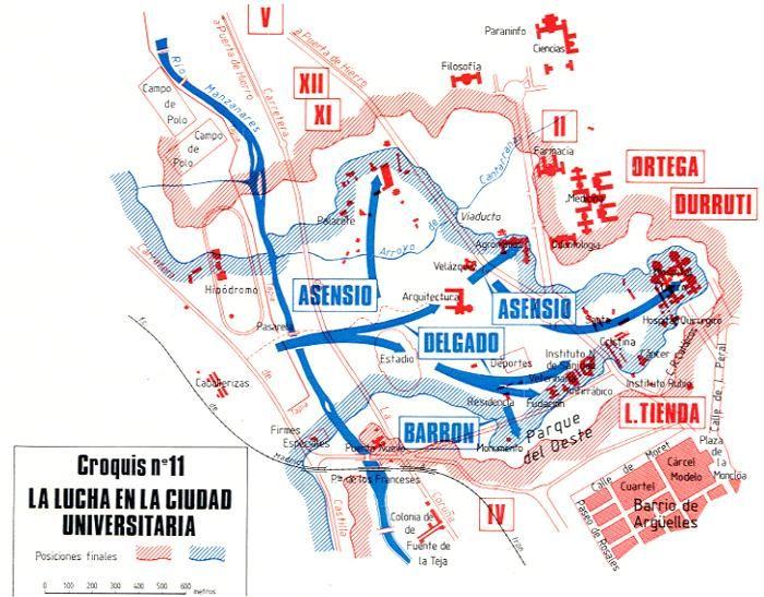 Comienza la Batalla de la Ciudad Universitaria.