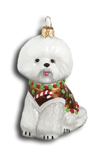 Gingerbread Bichon Frise Dog- I want this for my Christmas tree. | Pets I  love! | Pinterest | Bichon frise, Dogs and Coton de tulear. - Gingerbread Bichon Frise Dog- I Want This For My Christmas Tree