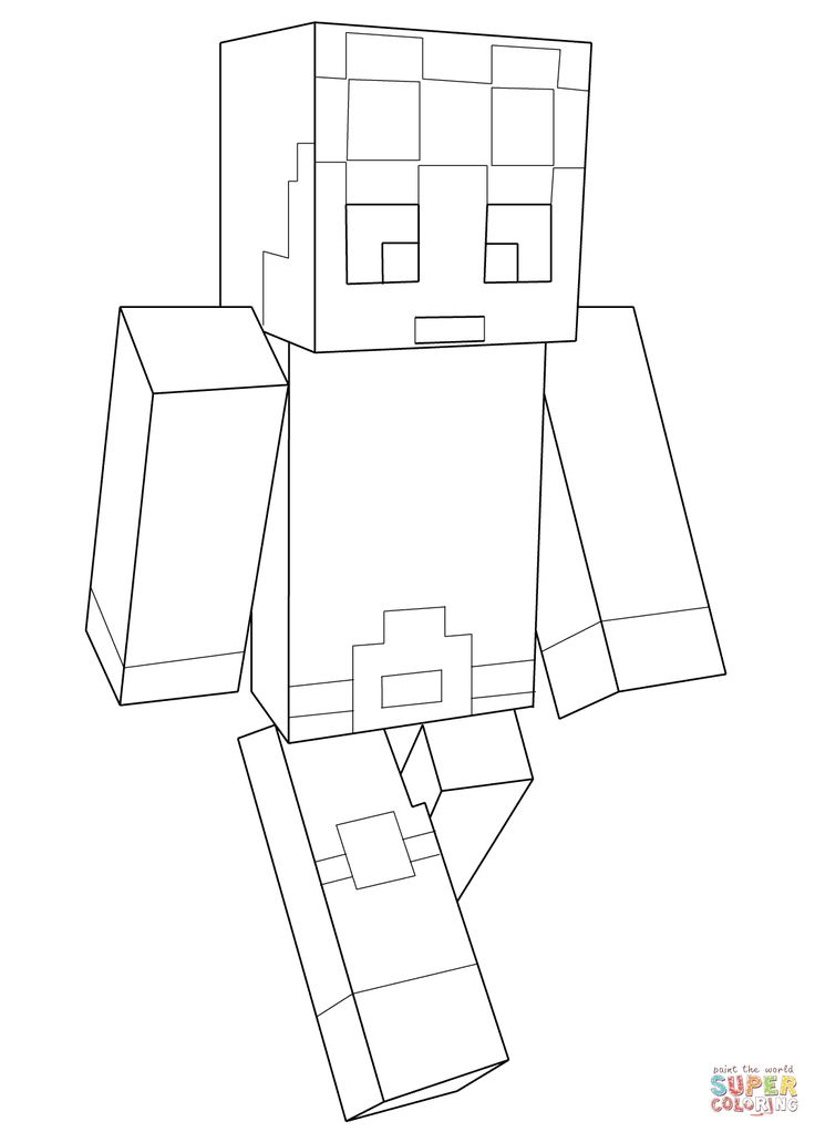 Minecraft Dantdm Super Coloring