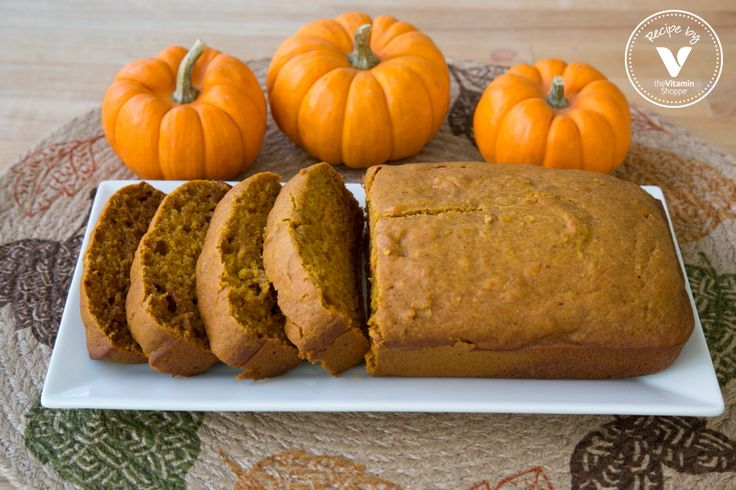 Pumpkin Bread Recipe For The Holidays:   Try out this Coconut Oil Pumpkin Bread Recipe for your upcoming holiday gatherings. Pumpkin bread can be served as a dessert or even had with a cup of coffee or tea for breakfast. This recipe includes products easily found at your local Vitamin Shoppe.