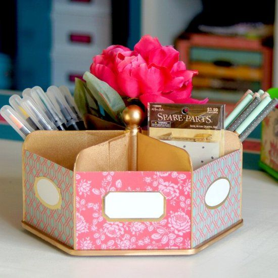 17 best images about craft gawker kay on pinterest - Lazy susan desk organizer ...