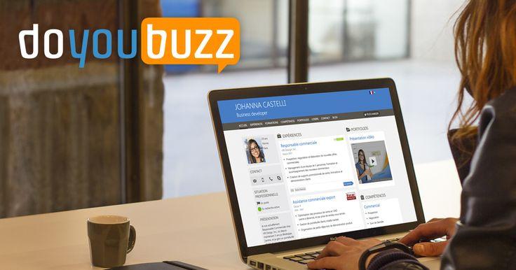 DoYouBuzz :   Application simple d'utilisation pour créer un CV qui soit à la fois joli, efficace pour les recruteurs, et facile à remplir. Service le plus utilisé par Zoomacom lors des JobCamp