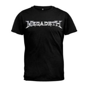 Megadeth Logo Men's T-Shirt - Create a Symphony of Destruction with your very own Megadeth Logo Men's T-shirt.
