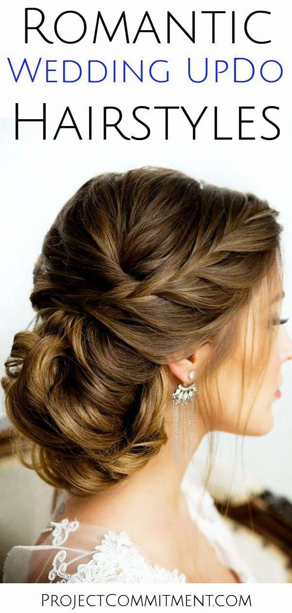 Romantic wedding updo hairstyle ideas for the bride or for bridesmaids – these simple vintage updo hairstyles are elegant bridal hair ideas whether yo