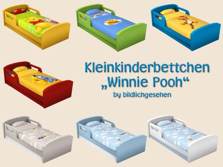 """Moin Ihr Lieben! Heute hab ich für Euch Kleinkinderbetten """"Winnie Pooh"""". Viel Spaß! Passend hierfür: Kindermöbel """"Winnie Pooh"""" Teppich """"Winnie Pooh"""" Wandbilder &…"""