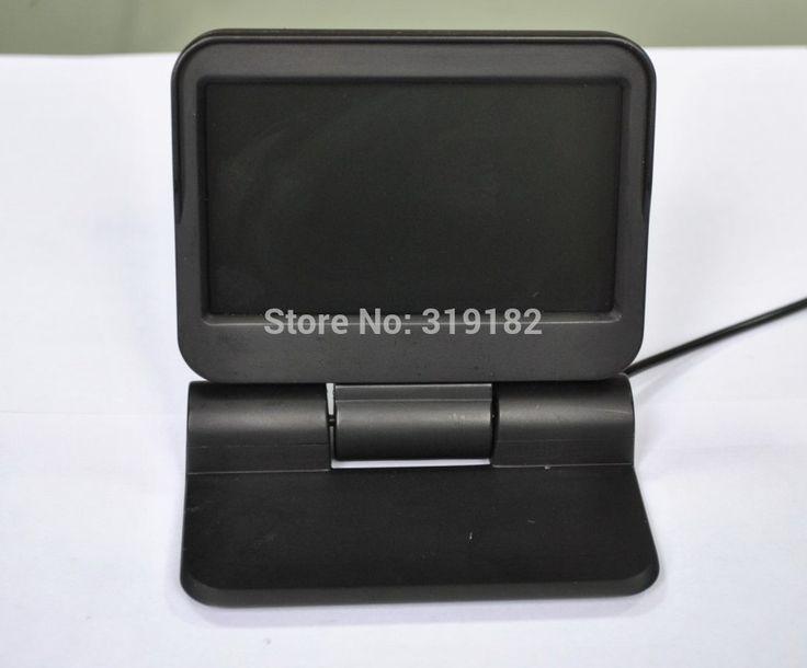 Обновления В тире автомобильные мониторы 5 дюймов HD 800*480 2CH AV IN автомобилей парковка поддрежки с дистанционным управлением моторизованный монитор