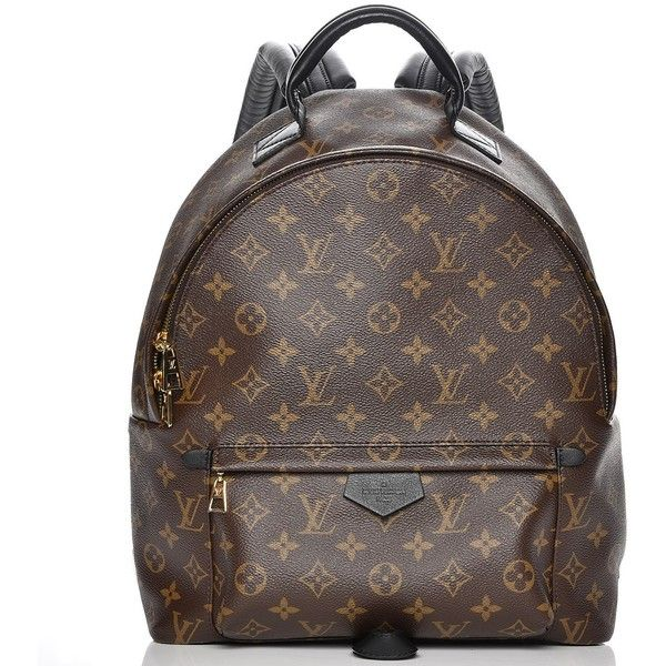 LOUIS VUITTON Monogram Palm Springs Backpack MM ❤ liked on Polyvore featuring bags, backpacks, monogrammed backpacks, daypack bag, louis vuitton bags, louis vuitton knapsack and palm tree backpack