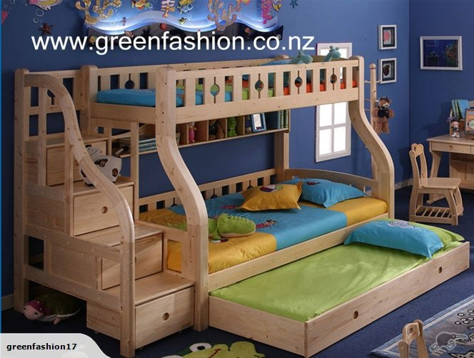 Xmas Special Bunk Bed With Drawer Stairs Trade Me
