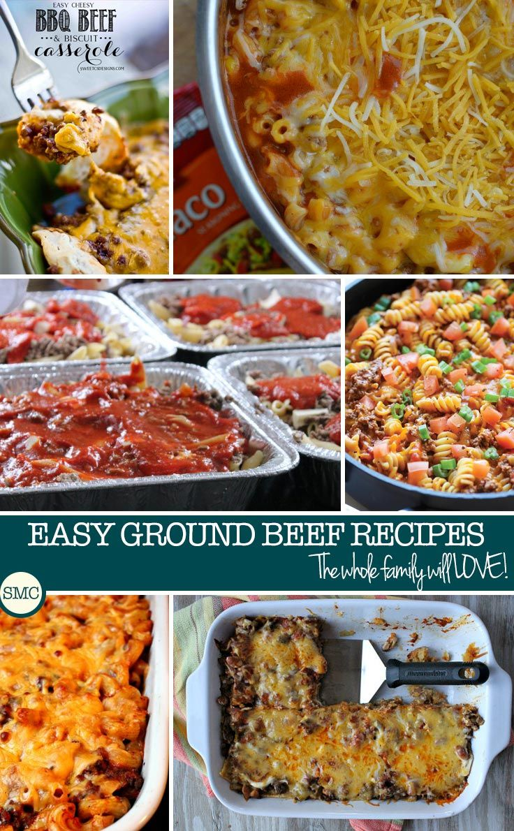 Lure your family to the table with the smell of one of these piping-hot, easy ground beef casserole recipes teamed with rice, noodles, potatoes, or even crescent rolls! There is something in this collection for everyone so why not stock up on some ground beef and add two or three of these recipes into your meal plan for the next few weeks!