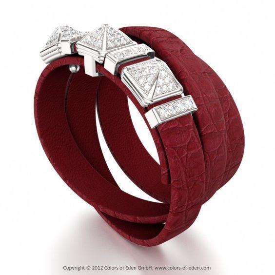 Pulseiras Braceletes, Jóias De Couro, Pulseiras De Couro, Todas As Coisas Vermelhas, Alerta Vermelho, Endiabrado, Bracelet Giza, Reasers Ruby, Jewelry …
