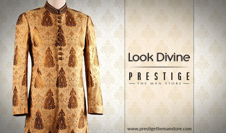 Add a touch of magic this festive season with our collection of men's ethnic wear #PrestigeTheManStore http://bit.ly/2cvH9tO
