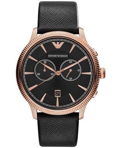 Emporio Armani Rose Alpha Chrono Watch AR1792 Campbell Jewellers Dublin Ireland