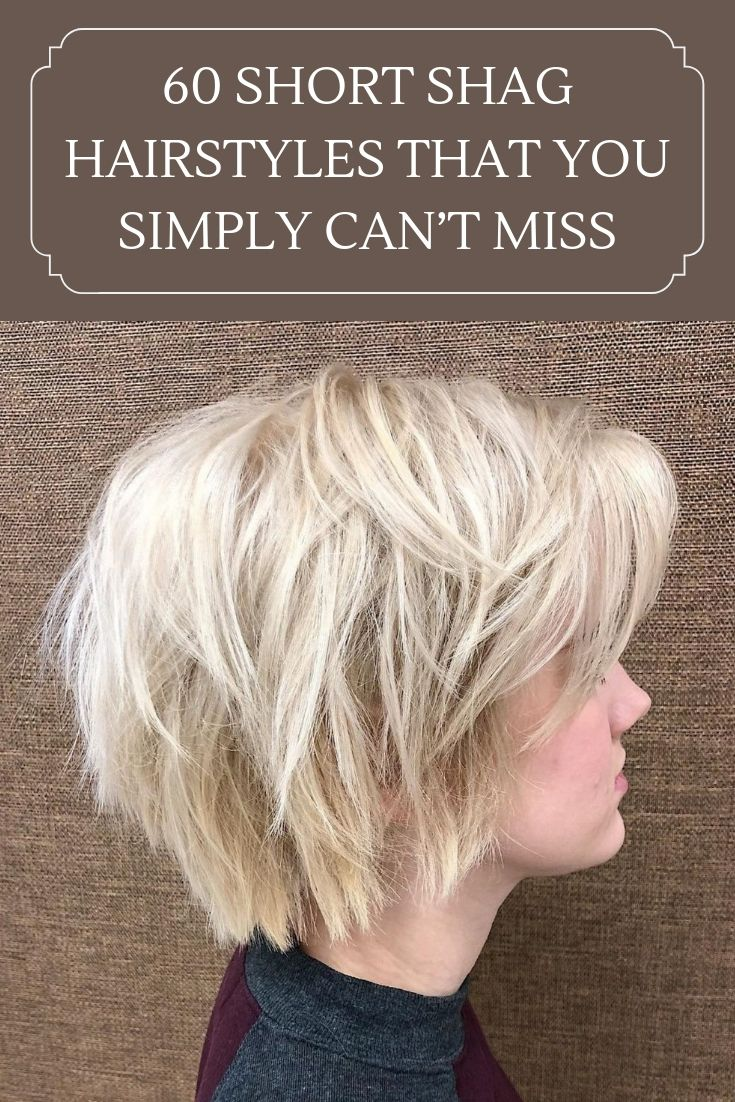 60 Short Shag Hairstyles That You Simply Can T Miss En