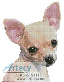 Chihuahua Cross Stitch Pattern…