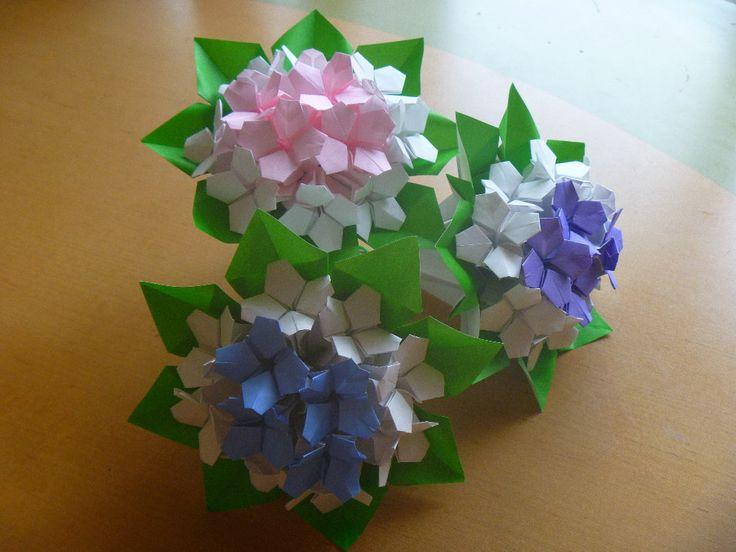 Ajisai origami