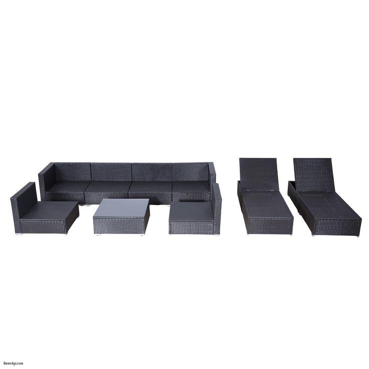 nice New Patio sofa , Outsunny 9pc Outdoor Patio Rattan Wicker Sofa Sectional Chaise Lounge Furniture Set Crimson Rattan Furniture Sale , http://ihomedge.com/patio-sofa/15149 Check more at http://ihomedge.com/patio-sofa/15149