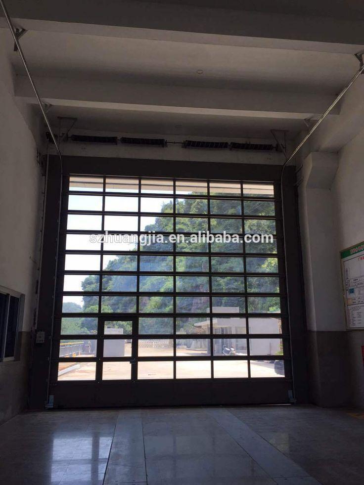 Glass Door:Amazing Cheap Garage Doors Fiberglass Garage Doors Double Garage Door Fabulous modern glass garage doors