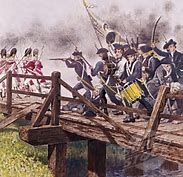 The Battles of Lexington and Concord, fought on April 19, 1775, kicked off the American Revolutionary War. Tensions had been building for years between residents of the colonies and the British authorities, particularly in Massachusetts. These were just the first military engagements of the American Revolutionary War which would last from 1775-1783.