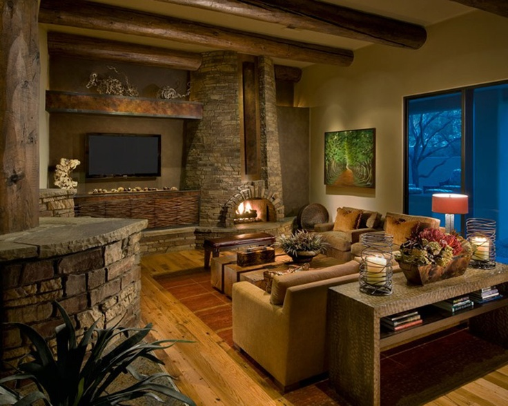 1000 Images About Cozy Rustic Living Room Design Ideas On