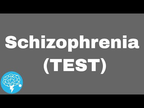 Do You Suffer From Schizophrenia (TEST) - YouTube