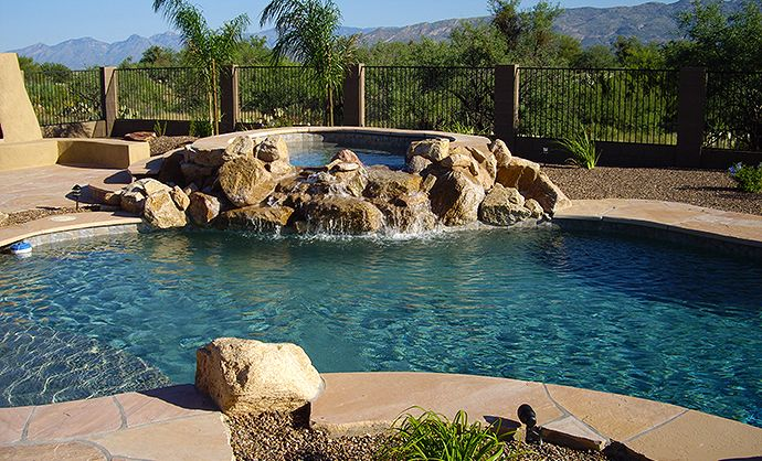 28 best outdoor bbq kitchens images on pinterest for Pool design tucson