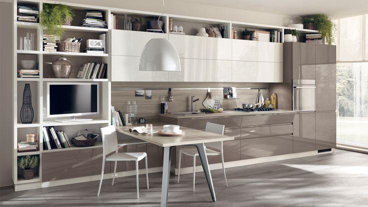 #Scavolini è riuscita a coniugare perfettamente spazio #living e ambiente #cucina grazie alla Cucina Motus. Siete curiosi di sapere come? Leggete qui: http://www.devincenti.it/prodotto/cucina-motus-scavolini  #arredamento #interiordesign