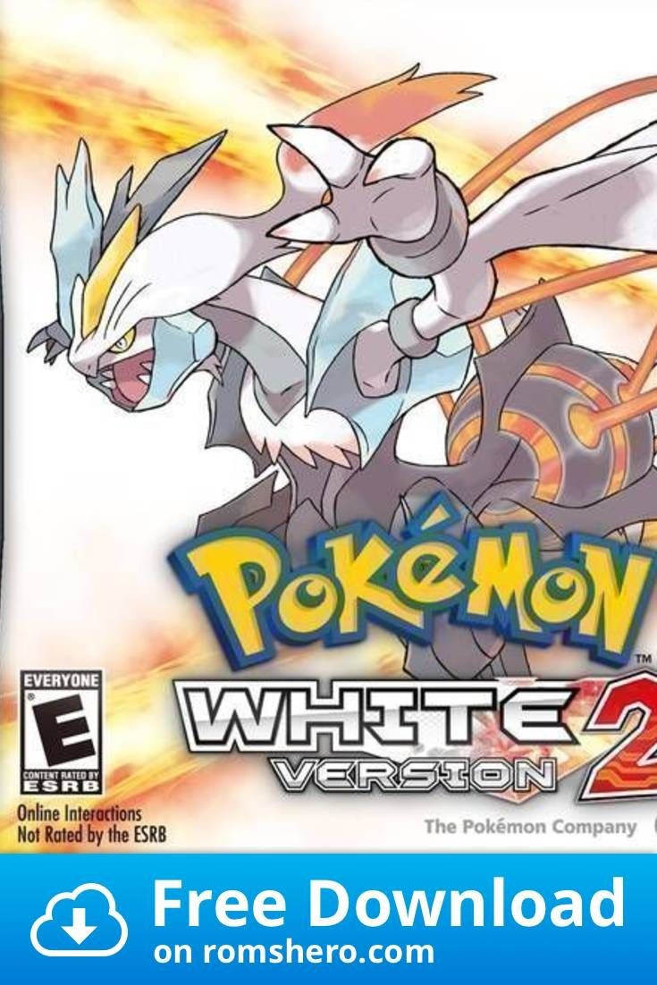 Download Pokemon White 2 Patched And Exp Fixed Nintendo Ds Nds Rom Nintendo Ds Pokemon Pokémon White