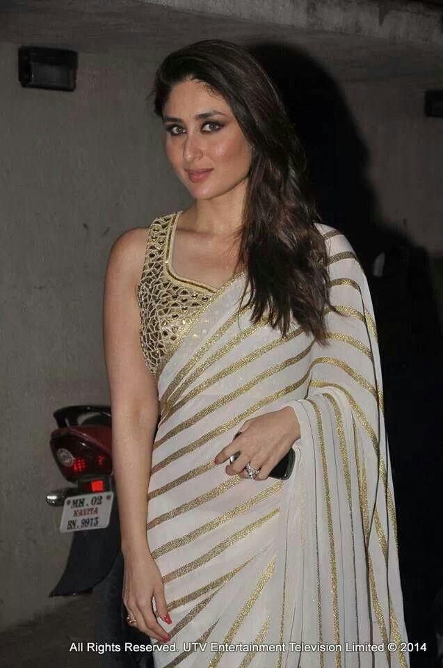 Kareena Kapoor #saree #sari #bloouse #indian #outfit  #shaadi #bridal #fashion #style #desi #designer #wedding #gorgeous #beautiful