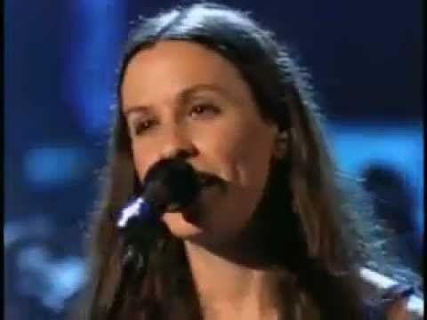 """""""Thank You"""" - Alanis Morissette on VH1 Storytellers."""