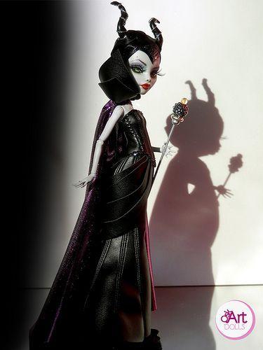 Maleficent by OskArt Dolls