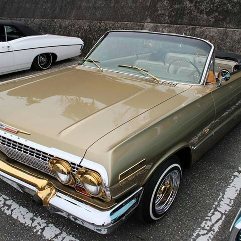 The real Touch of gold 1963 Impala used in the movie Boyz in the hood.