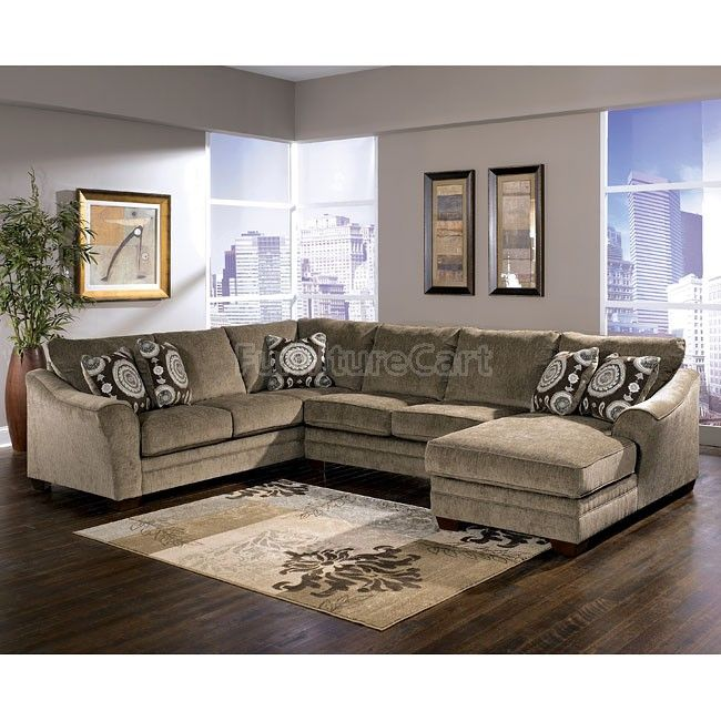 Cosmo Marble Right Chaise Sectional Sectional Sofa