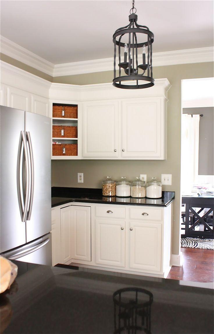 Corner Cabinet No Door Baskets