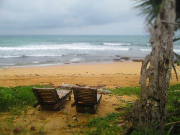 Playa Paunch on Isla Colon