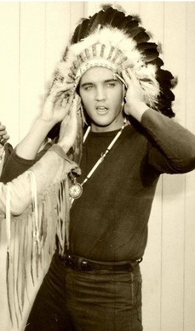 team usa nike shoes olympics Elvis in an Indian headdress  December 1960   Retronaut