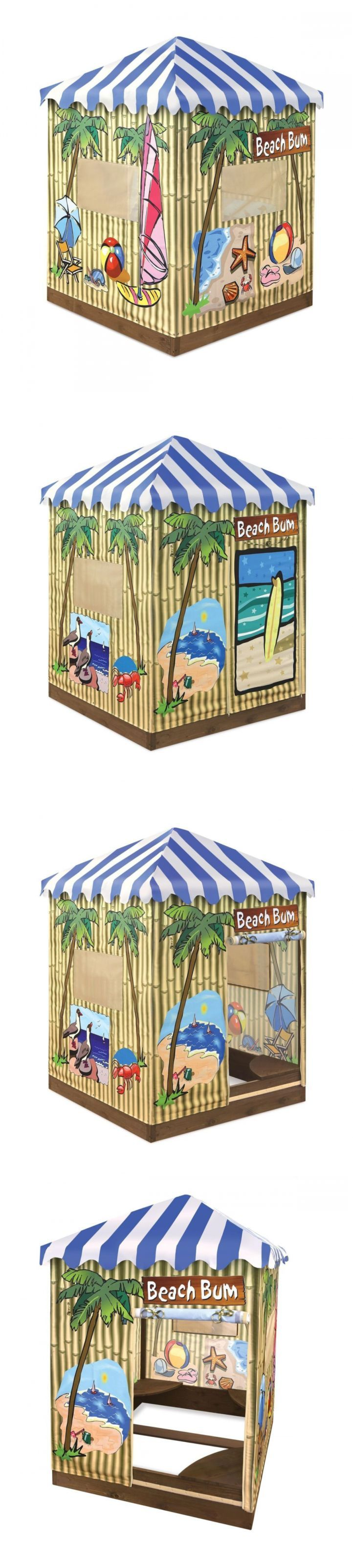 Sandbox Toys and Sandboxes 145990: Outdoor Toddler Playhouse Covered Sandbox With Canopy Sand Pit Kids Wood -> BUY IT NOW ONLY: $176.62 on eBay!