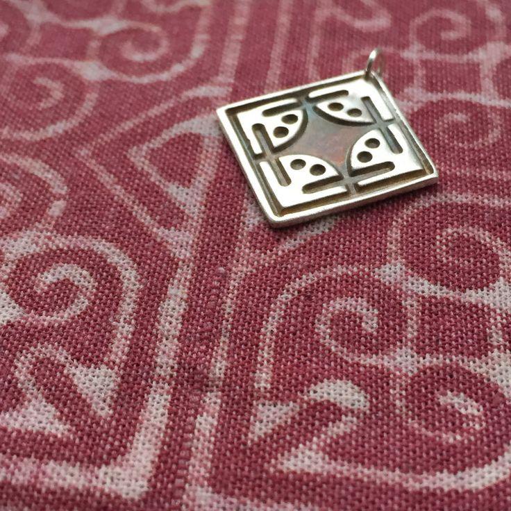 Bahaa' / Dazzling Beauty silver pendant by Majnouna on Etsy