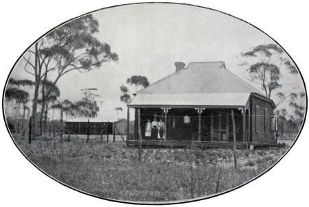 The Farley family in Coorow. The first Ready Made Farm to be sold was to Capt. Phillip Farley in 1913, who migrated with his family from India to take up a holding in Coorow. By 1916 another 22 families from Western Australia, England, Scotland and India had taken up farms across Carnamah, Winchester and Coorow.