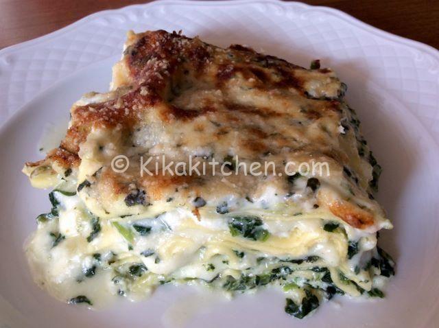 ricetta lasagne ricotta e spinaci