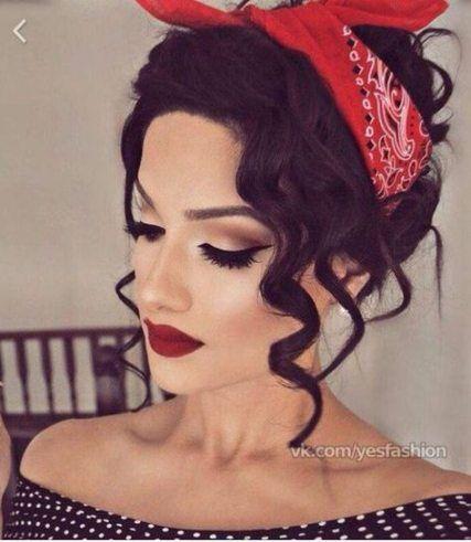 48 stylish hairstyles bandana quick hair pin up