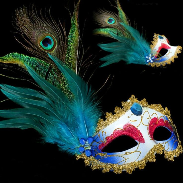 Cheap christmas toy, Buy Quality christmas polish directly from China mask christmas ornaments Suppliers: 2016 10PCS party masks masquerade masks halloween color ball feather mask fashion men women sexy half face masked mask C