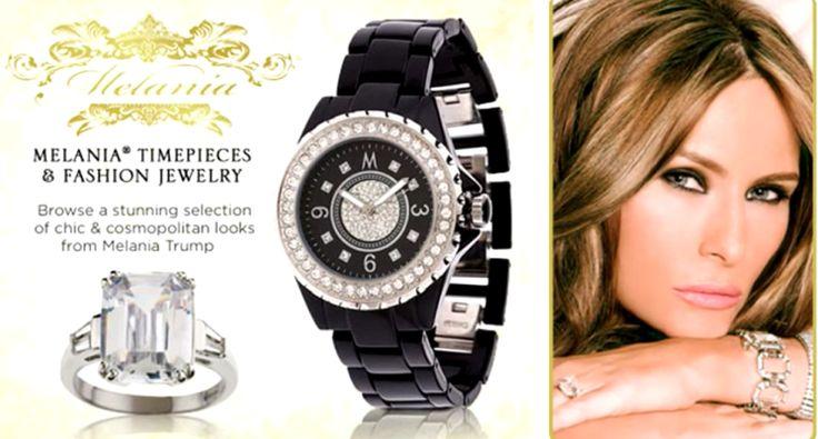 Redesigned White House website plugs Melania Trump's QVC jewelry line