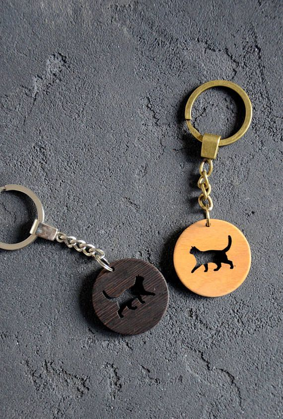 Cat Pet Lover Gift Wooden Key Chain Custom Keychain Cat print Gift for Friend Sister Girlfriend Teen Housewarming Gift for New Home This key chain would be a wonderful cute favor for any occasion. And a perfect gift for cat lovers! ✓ It can be engraved with anything you would like to: name, logo, funny inscription, picture etc. ✓ You can choose from 3 wood types we offer and from 2 key ring colors. ORDER PREPARATION The time we need to prepare an order for shipping (delivery) is 1-5 bus...
